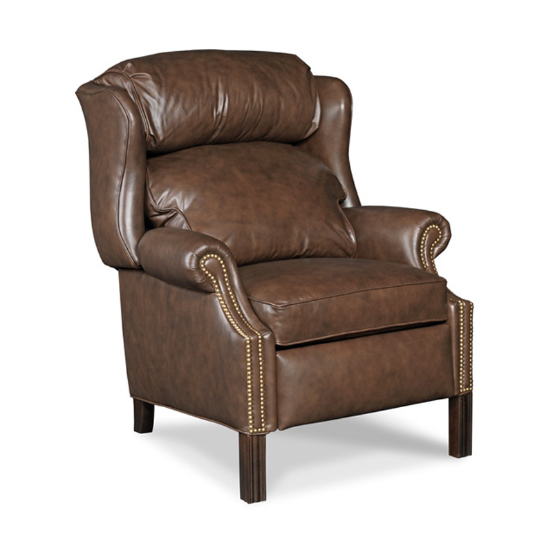 Reclining Wing Chair 4114 Chippendale Bradington Young