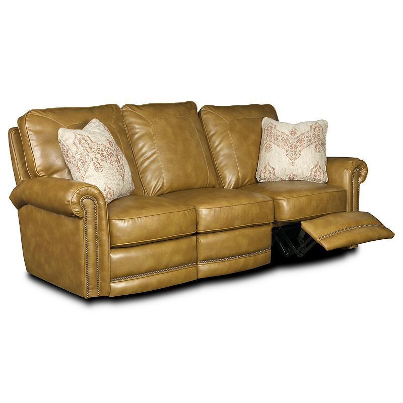 Pleasing Leather Or Performance Leather Reclining Sofa Manual L258 39 Uwap Interior Chair Design Uwaporg