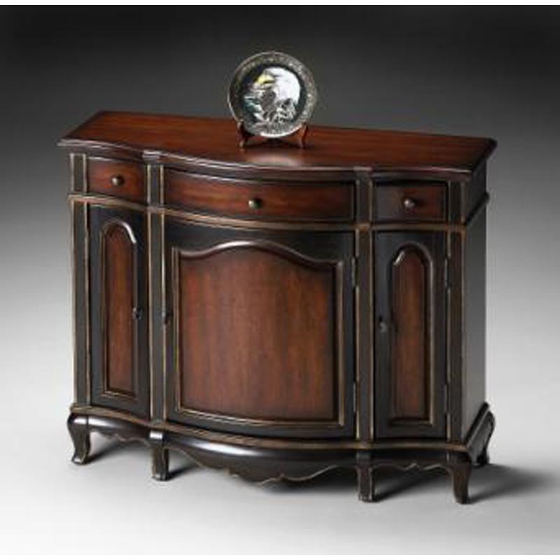 Console Cabinet 1684104 Cafe Noir Butler Specialty