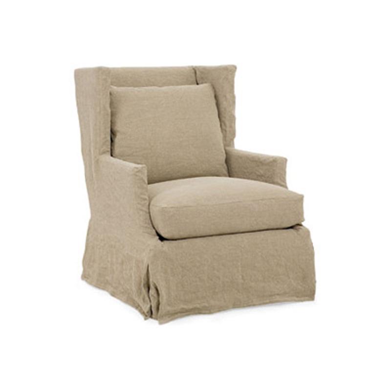 garrison slipcovered chair 2295 sc slipcover cr laine