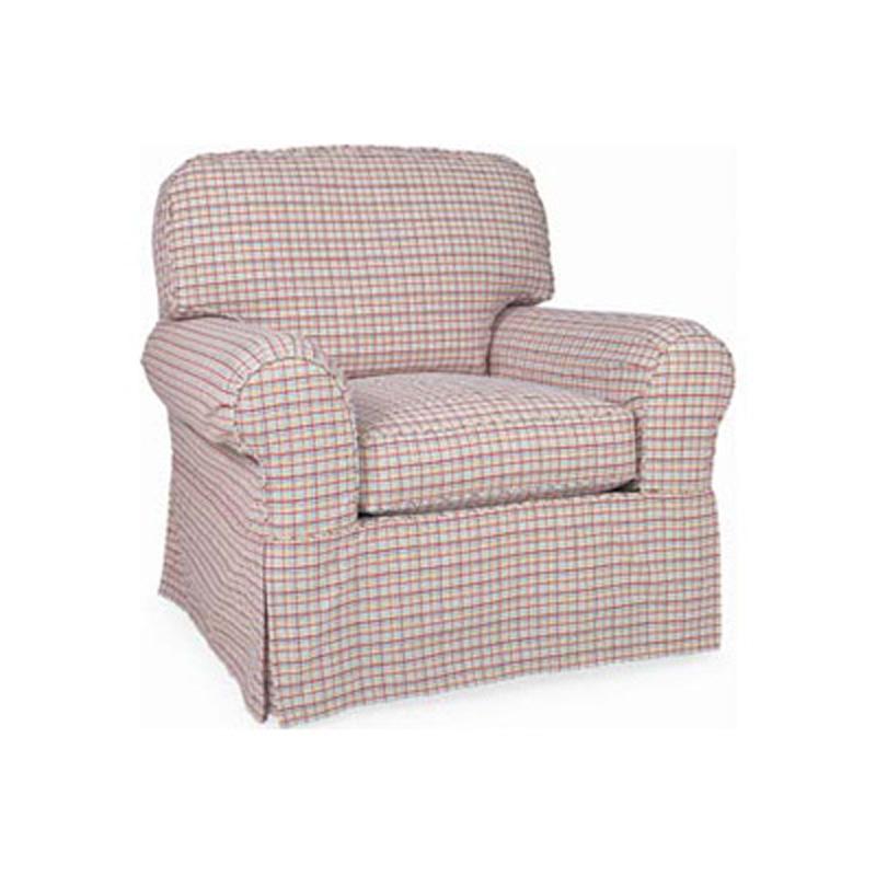 Portman Slipcovered Chair 5385 SC Slipcover CR Laine