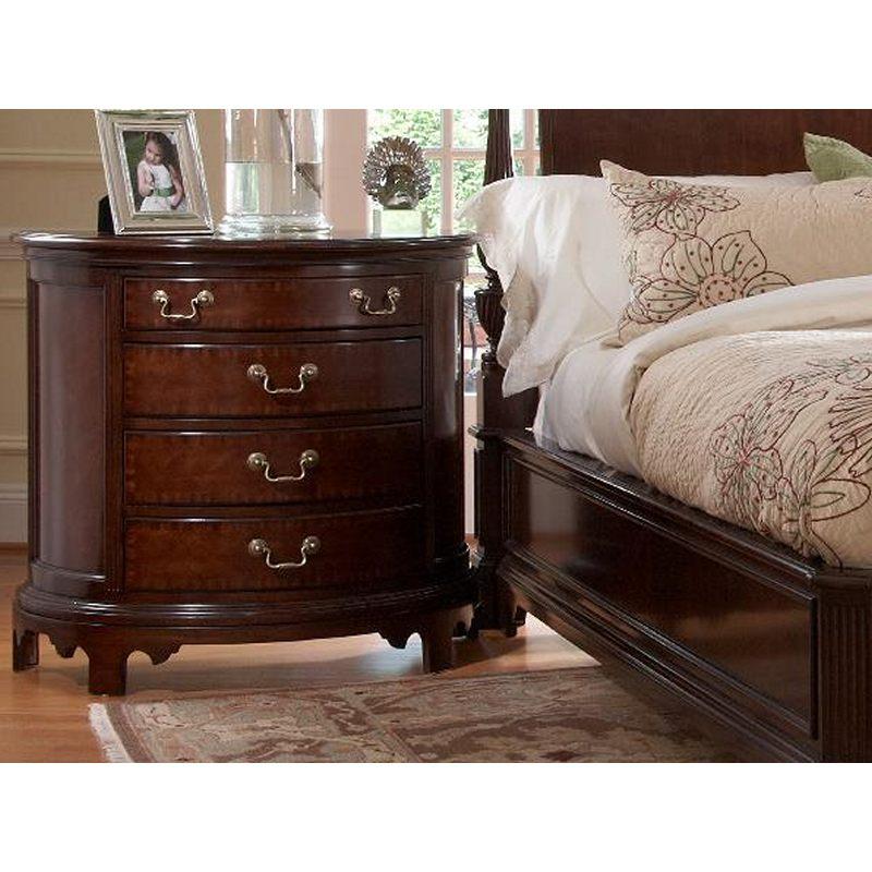 Norfolk Demilune Chest American Cherry Fine Furniture Design