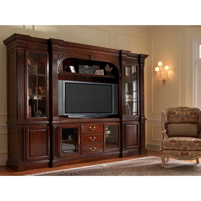 Salisbury Home Entertainment Unit 1020 691tr 691br 692tl 692bl 694 693 American Cherry Fine