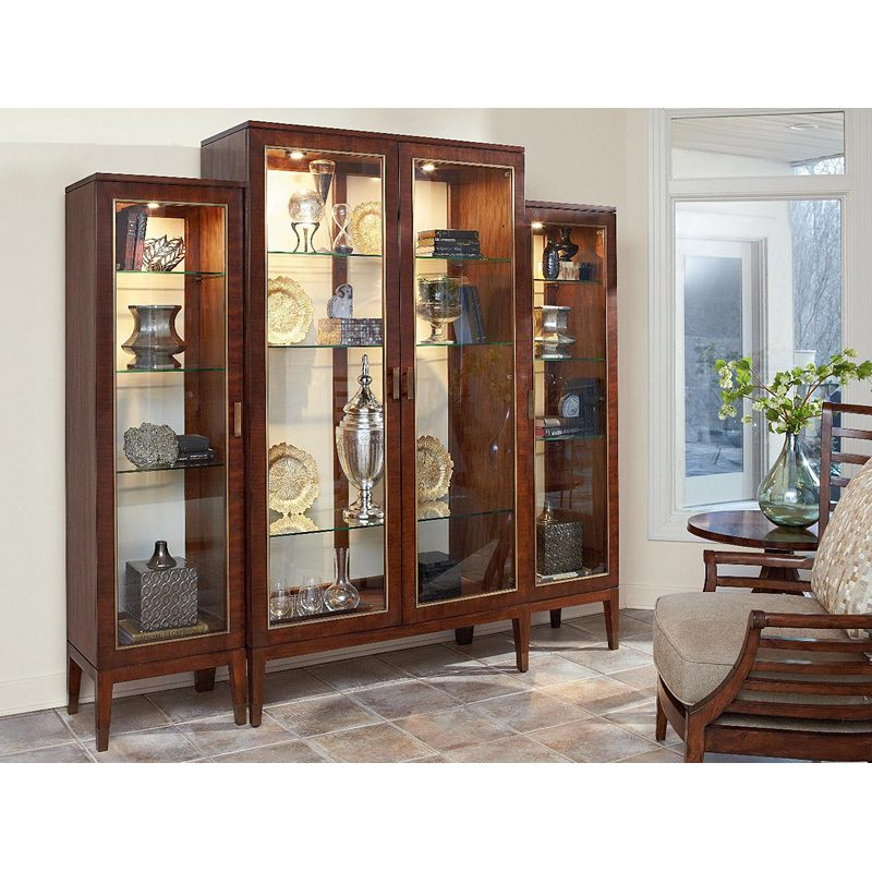 Center Display Cabinet 1360-693 Boulevard Fine Furniture ...
