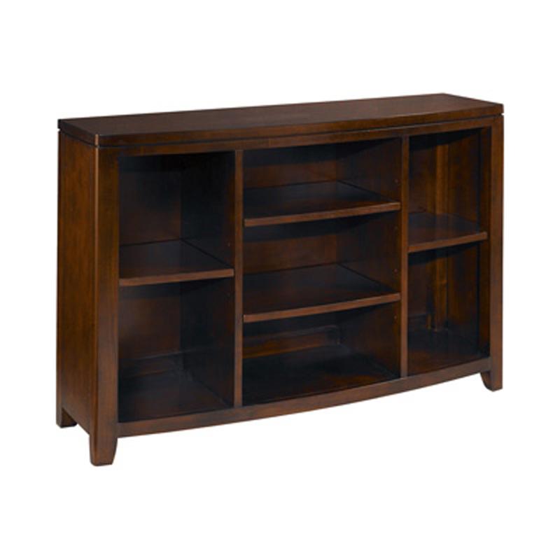 Bookcase console 912 926 tribecca hammary furniture at for Sofa table cabinet