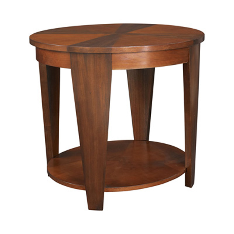 Oval End Table T2003436 00 Oasis Hammary Furniture At
