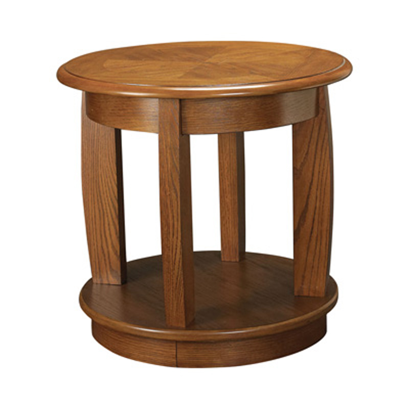 Round End Table Ascend Hammary