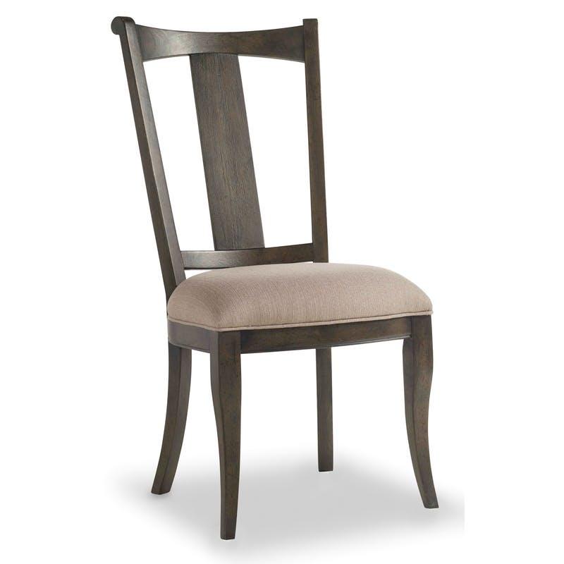 Upholstered Splatback Side Chair 5700 75410 Vintage West Hooker Furniture At Denver Furniture