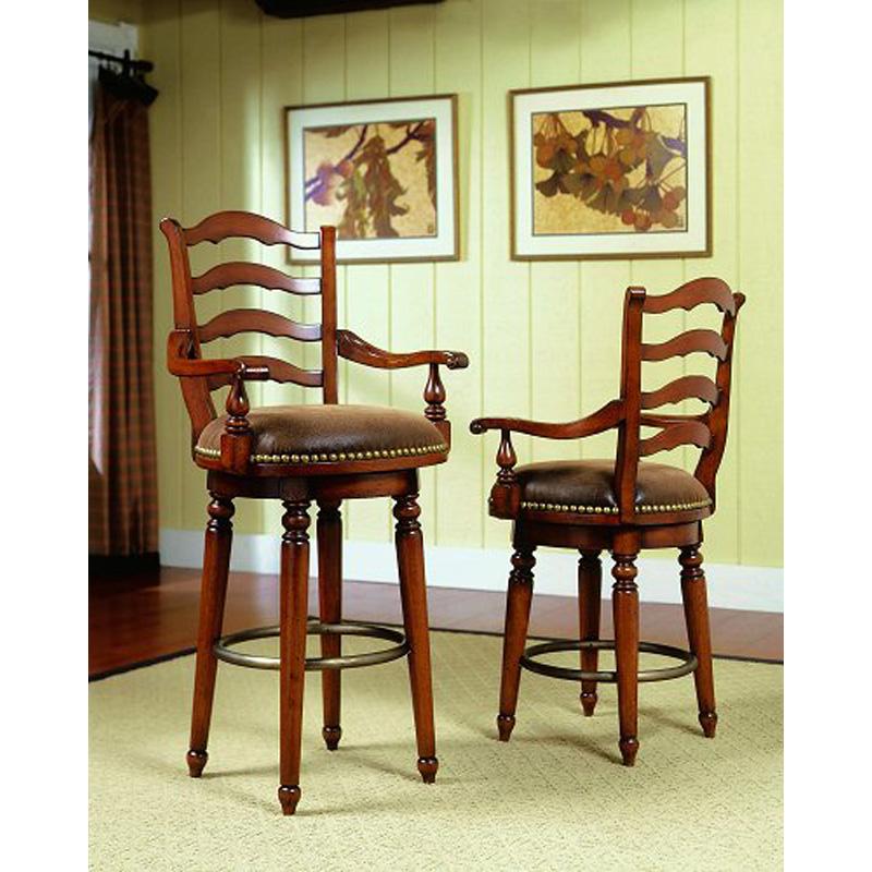 Ladderback counter stool 366 75 450 waverly place hooker furniture at denver furniture center - Barstools denver ...