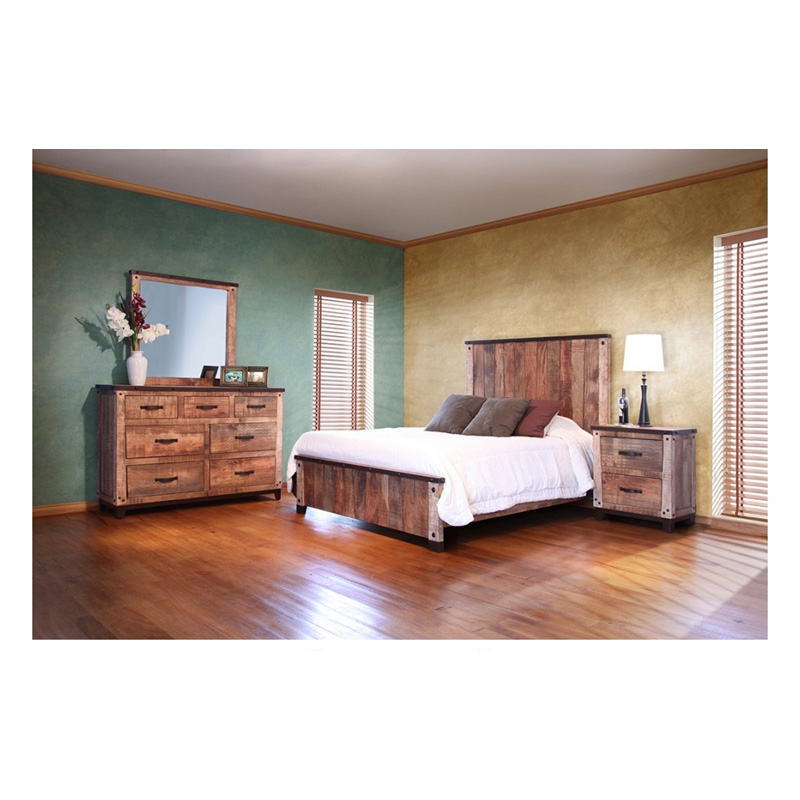 Bed Queen Ifd766bedroom 766 Maya Multicolor International
