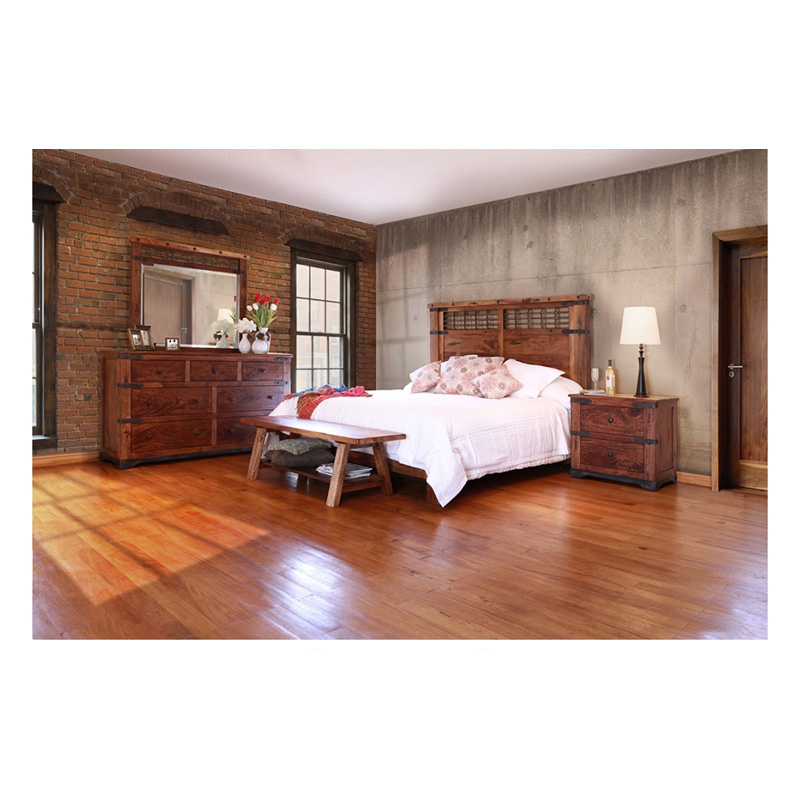 Direct Bedroom Furniture: Bed Queen IFD866BEDROOM 866 PAROTA International Furniture