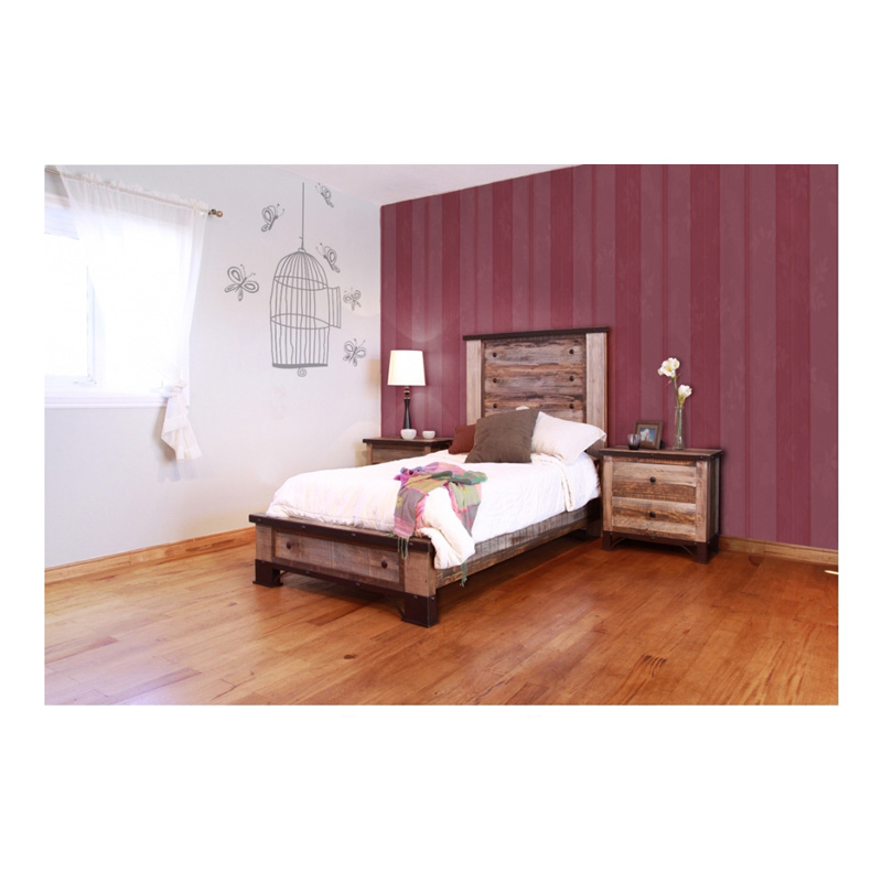 Shop Furniture Direct: Bed Twin IFD966HDBD-T 966 ANTIQUE International Furniture