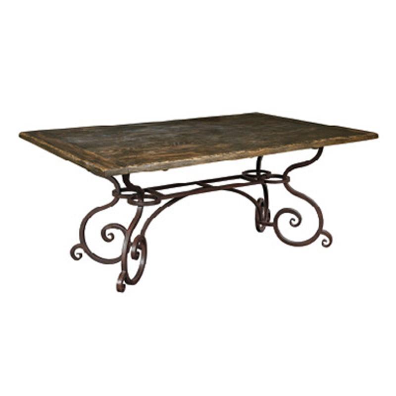 72 inch rectangular dining table 90 2119p artisans shoppe dining kincaid furniture at denver. Black Bedroom Furniture Sets. Home Design Ideas