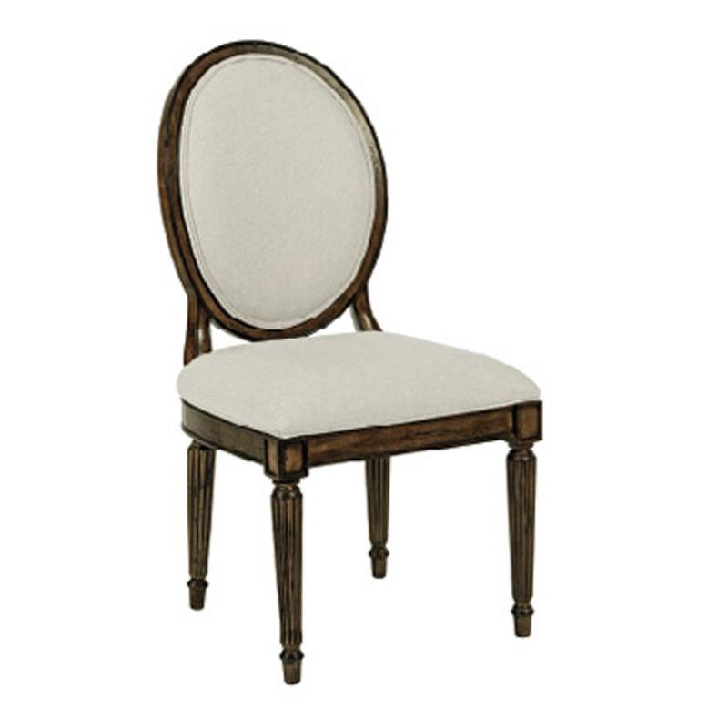Oval Back Side Chair 90 2499 Artisans Shoppe Dining Kincaid Furniture At Denver Center