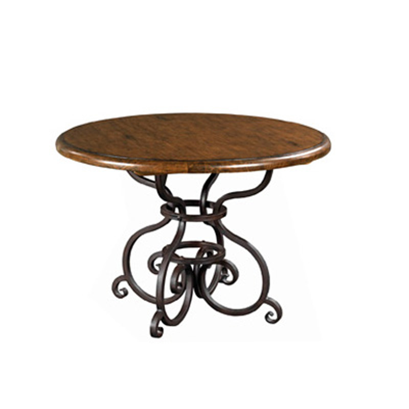 44 inch round dining table 90 2155 artisans shoppe dining for 44 inch round dining table