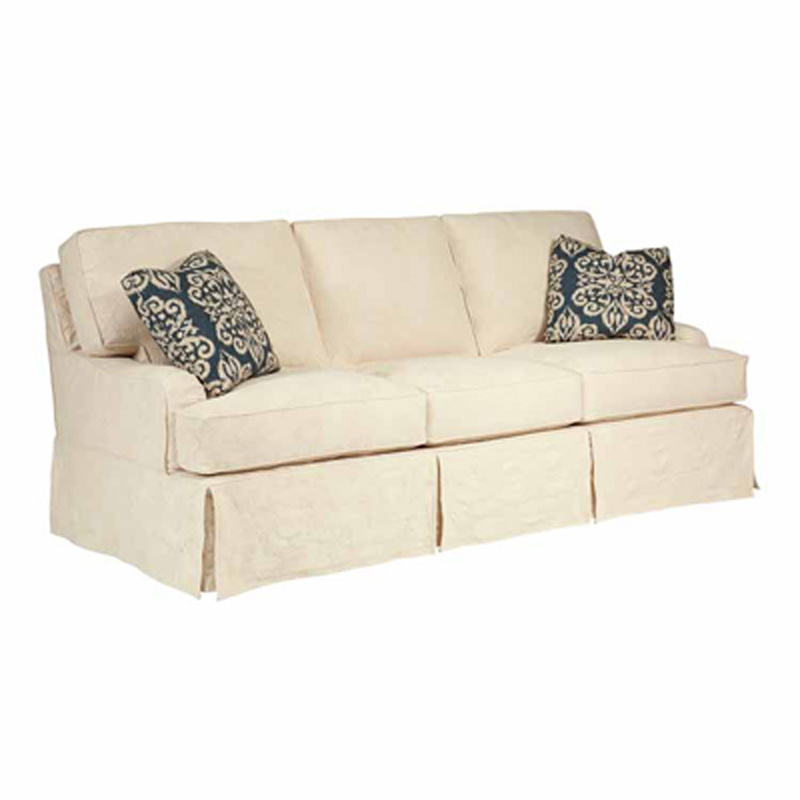 Slipcover Upholstery Kincaid Simone Queen Sleeper Sofa