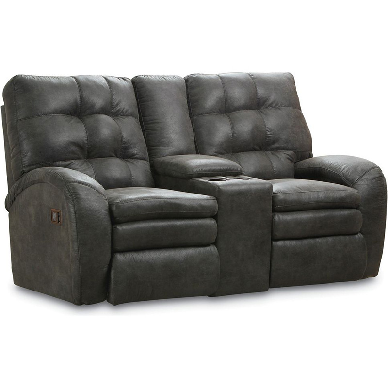 Double Reclining Console Loveseat With Storage 200 43 Marco Lane Furniture At Denver Furniture