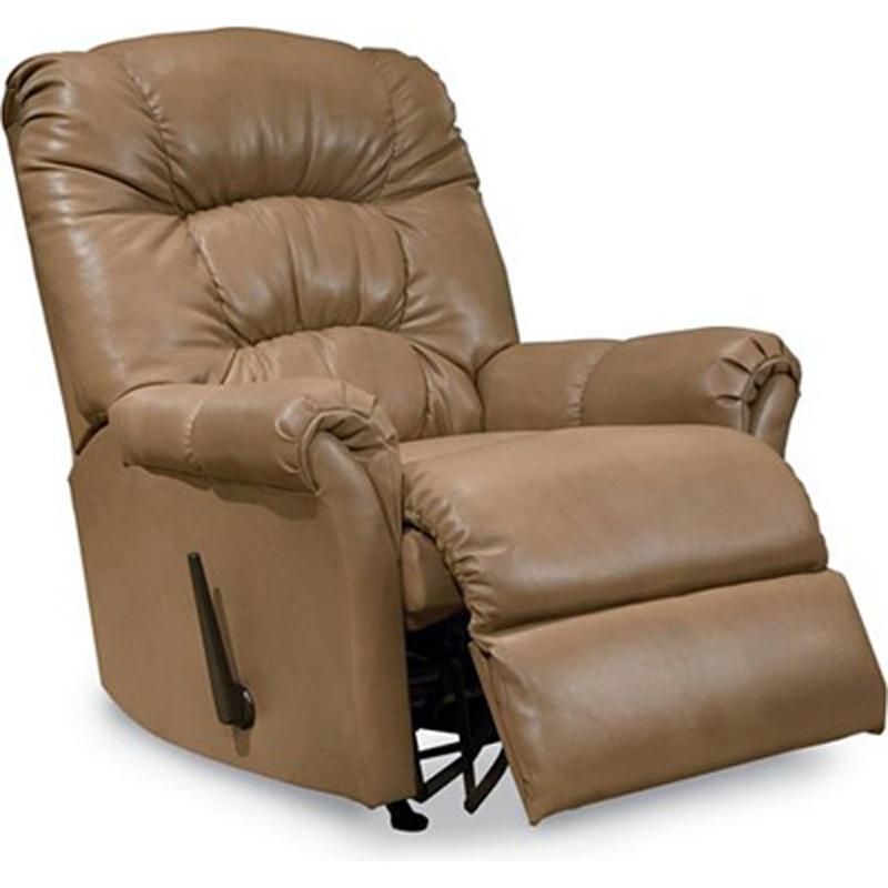 Mullen rocker recliner 11790 recliners lane furniture at for Belle hide a chaise high leg recliner