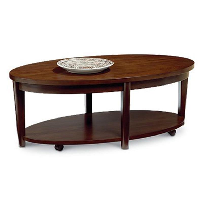 Oval Coffee Table 11986 02 Canterbury Lane Furniture At Denver Furniture Center Denver Nc