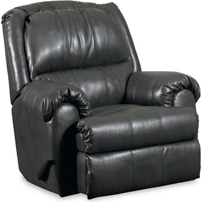Xander pad over chaise rocker recliner 11986 recliners for Belle hide a chaise high leg recliner