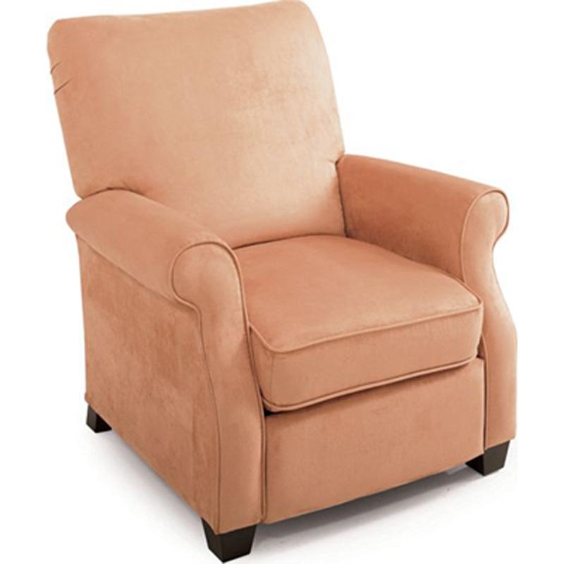 Jill low leg recliner 2340 recliners lane furniture at for Belle hide a chaise high leg recliner