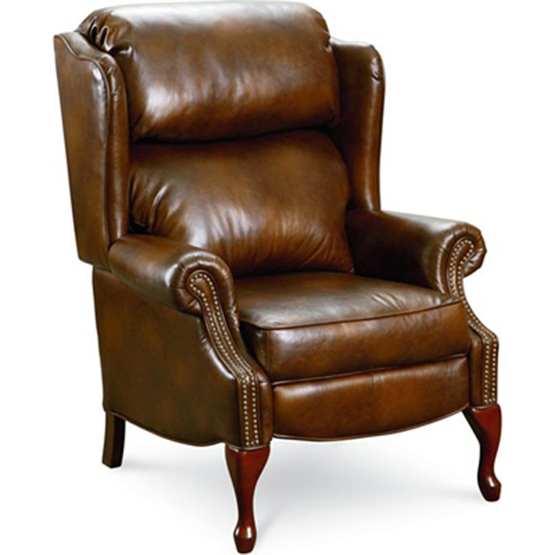 Savannah high leg recliner 2530 recliners lane furniture for Belle hide a chaise high leg recliner