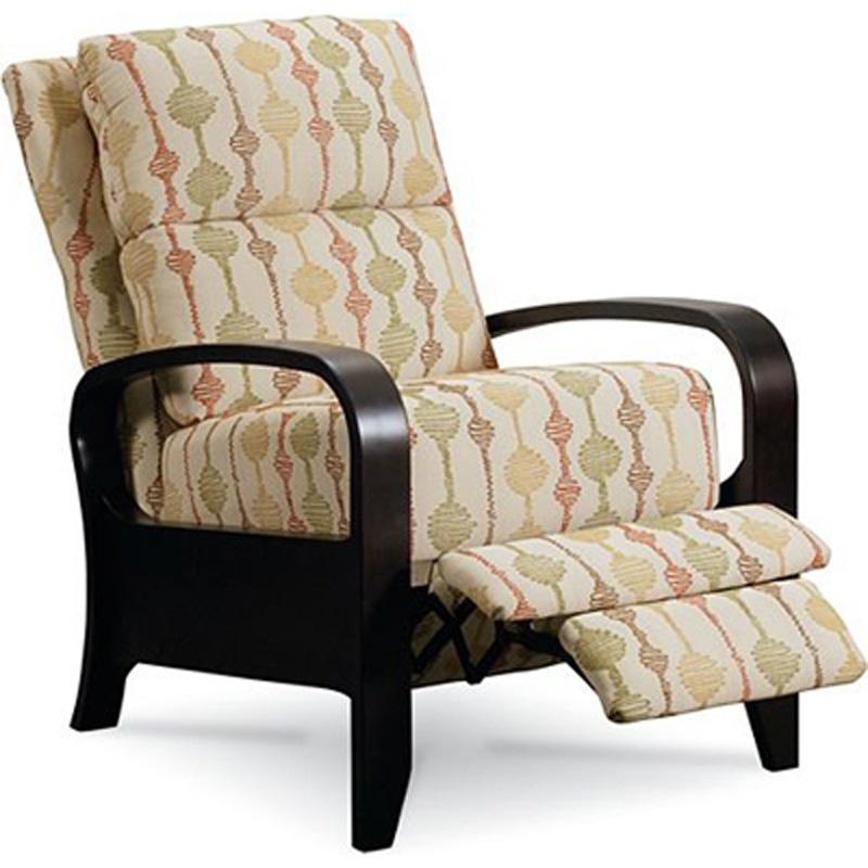 Mila high leg recliner 2564 recliners lane furniture at for Belle hide a chaise high leg recliner