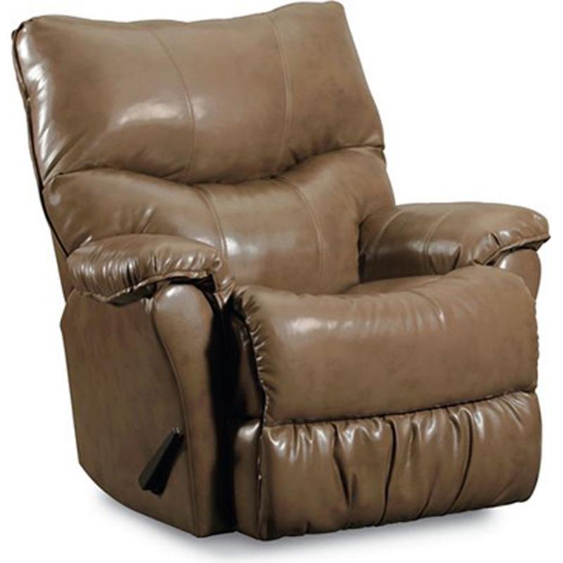 Triton rocker recliner 401 98 recliners lane furniture at for Belle hide a chaise high leg recliner