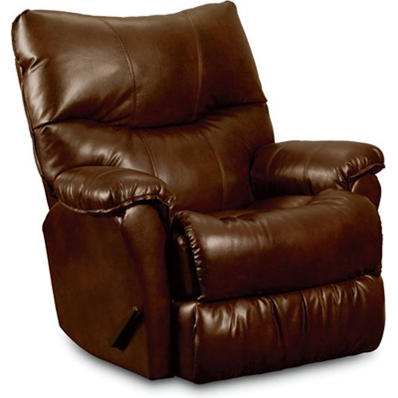 Triton glider recliner 401 95 recliners lane furniture at for Belle hide a chaise high leg recliner