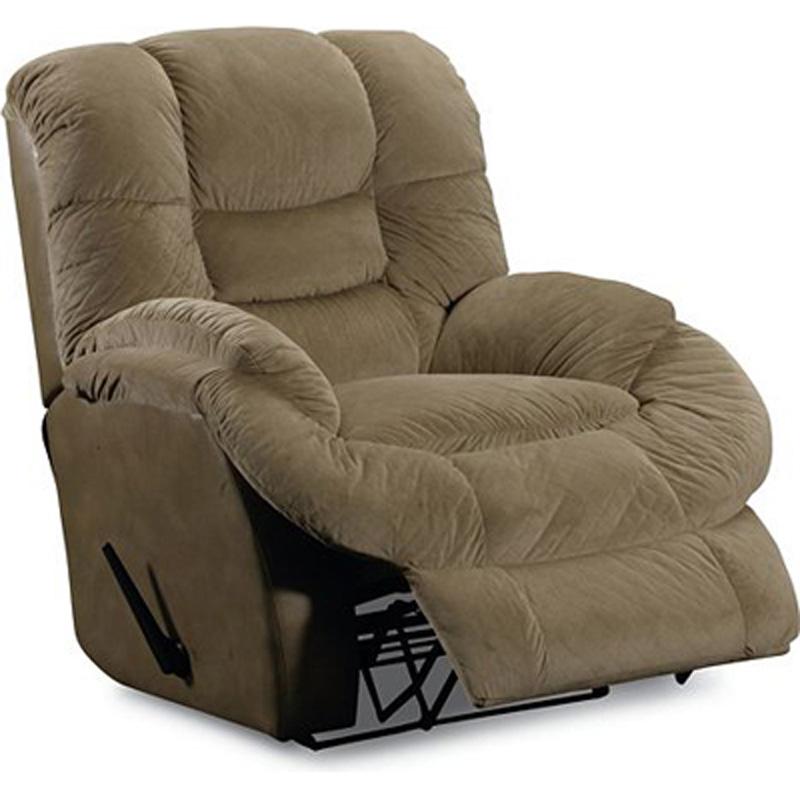 Marvel rocker recliner 407 98 recliners lane furniture at for Belle hide a chaise high leg recliner