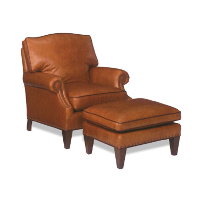 Leather Chair 1330 Kent Ottoman Kent McKinley Leather