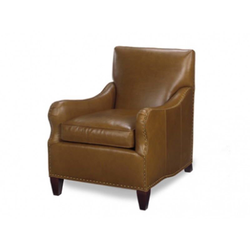 Leather Tight Back Chair Leather Mckinley Leather