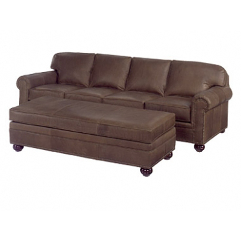 Leather Sofa And 3830 66 Bench 3834 Buchanan Mckinley