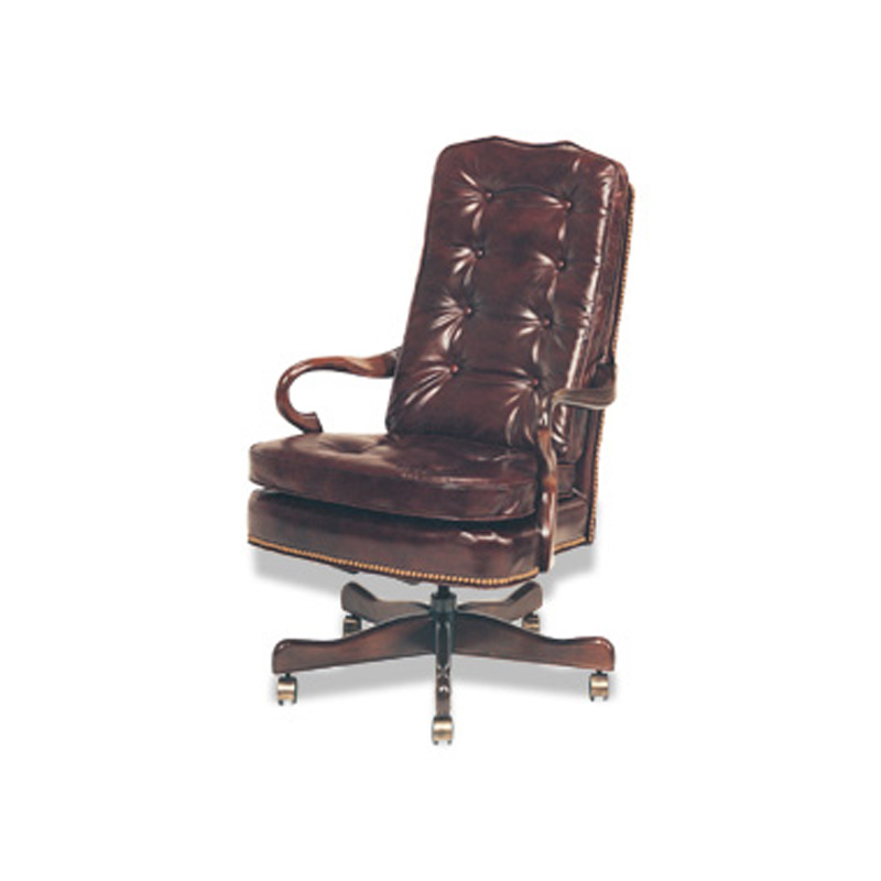 Leather Tilt Swivel Chair Executive McKinley Leather