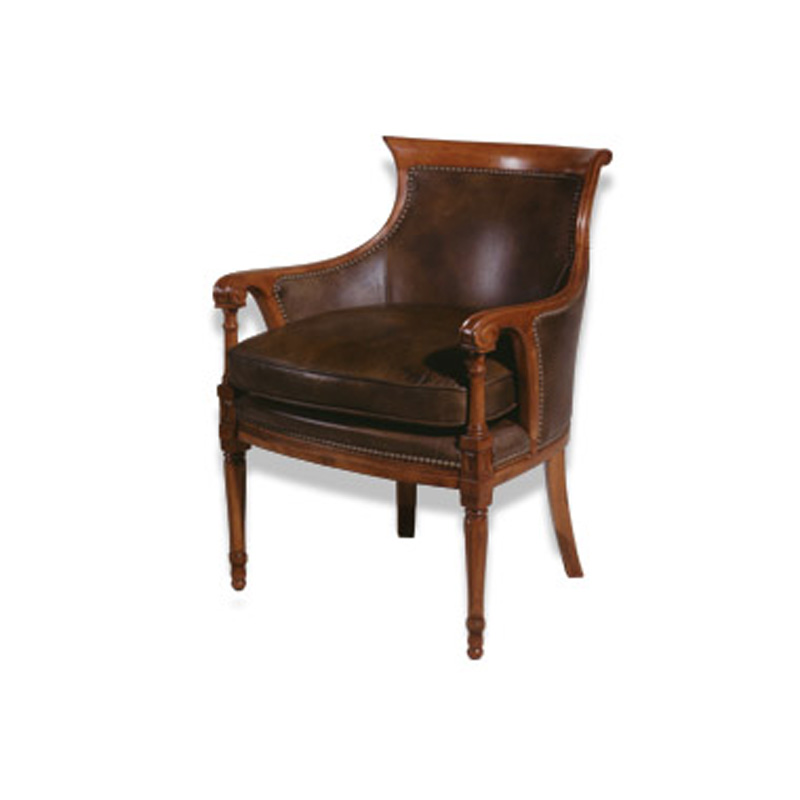 Leather Chair J Neal Collection McKinley Leather