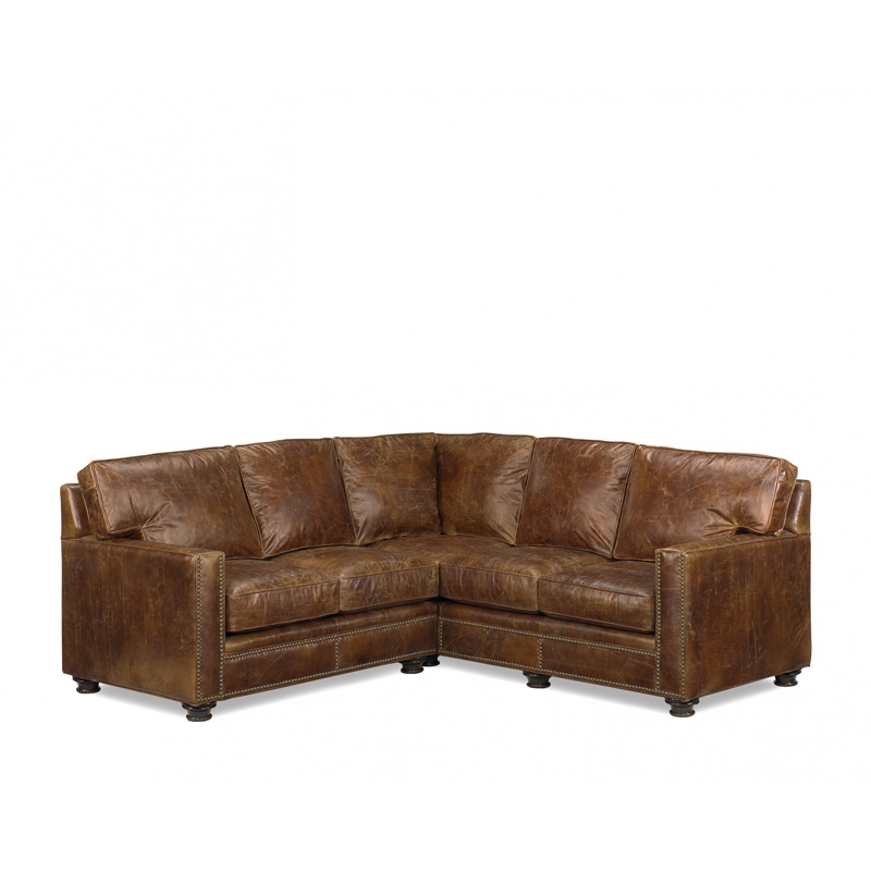 Leather Sectional 2135 Houston McKinley Leather Furniture at ...