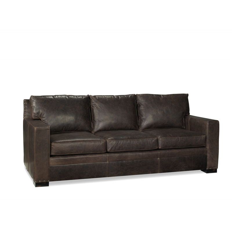 Leather 92 inch sofa 4204 92 franklin mckinley leather for Sofa 84 inch