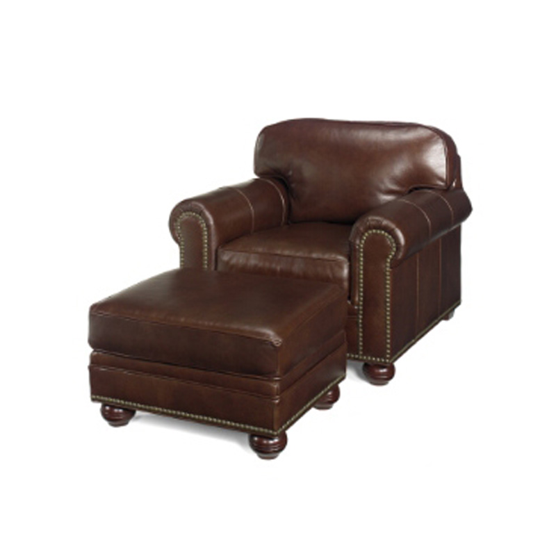 Leather Chair 3830 Ottoman 3831 Buchanan Mckinley Leather