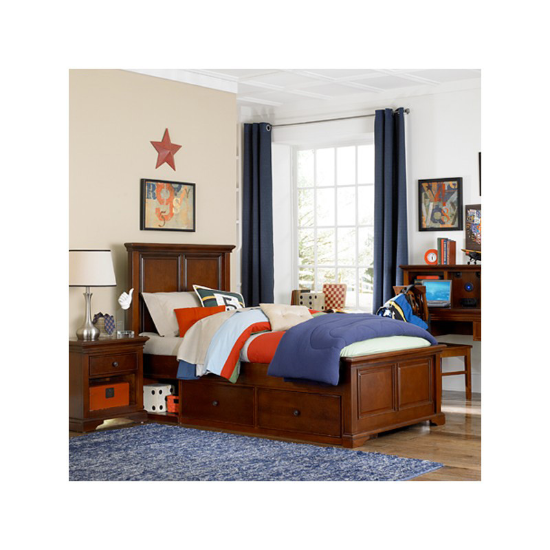 Devin Panel Bed 396 4959 Walnut Street Ne Kids Furniture