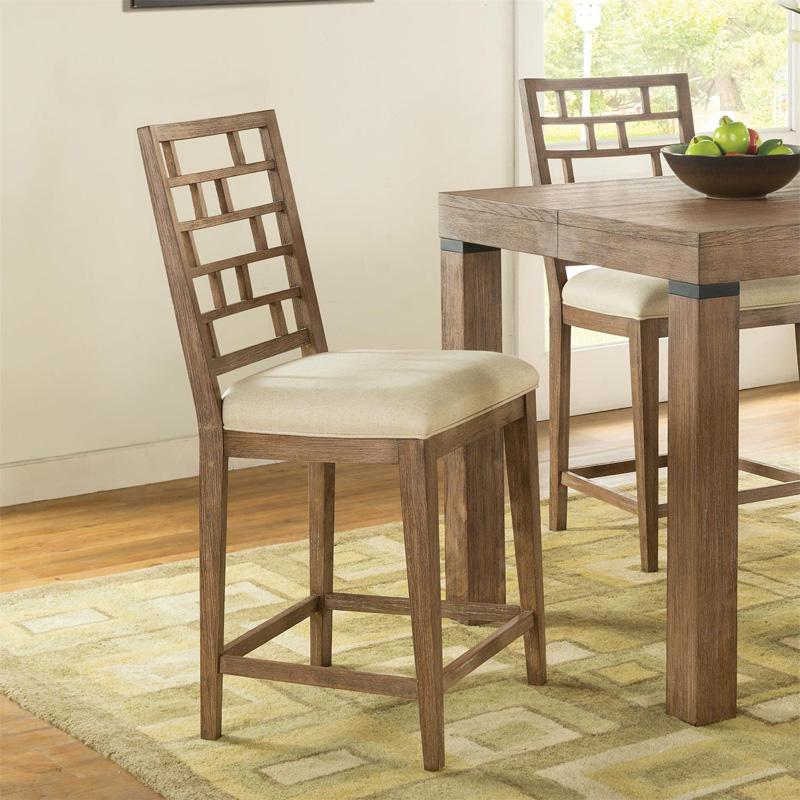 Counter height stool 26254 mirabelle riverside furniture at denver furniture center denver nc - Barstools denver ...