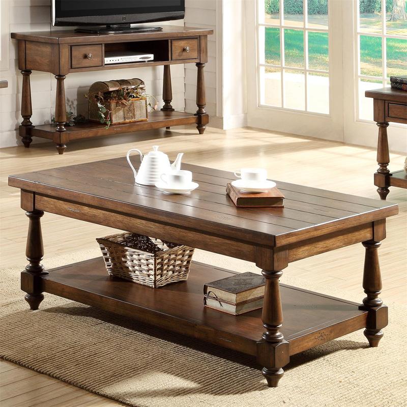 Rectangular Coffee Table 37402 Newburgh Riverside  : riverside0820201337402 from www.denverfurniturecenter.com size 800 x 800 jpeg 298kB
