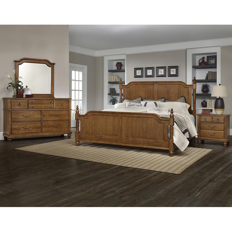 Bassett Furniture Denver: Poster Bed King 440-1-1 Arrendelle Vaughan Bassett