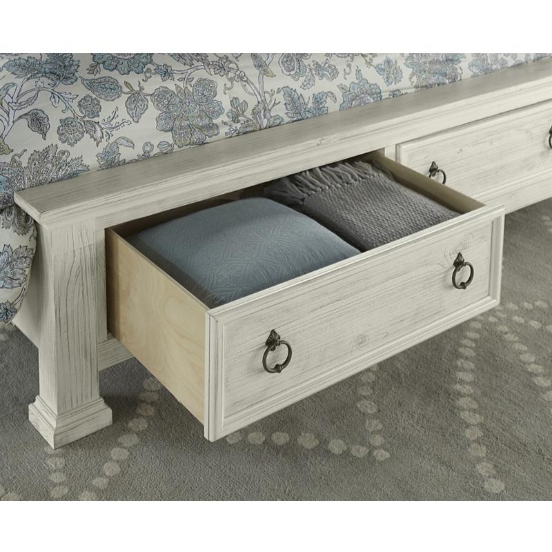 Bassett Furniture Denver: Poster Bed With Storage Rustic Hills Vaughan Bassett